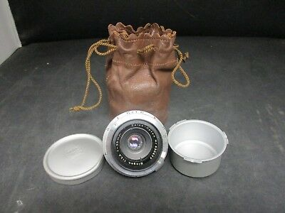 Vintage Zeiss Opton Biogon 1:2,8 f=35mm Lens