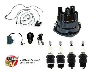Delco Distributor Ignition Tune Up Kit John Deere 1010 2010 3010 3020 Tractor
