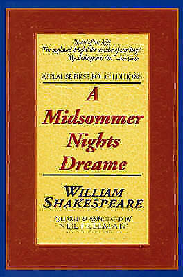 A Midsummer Night's Dream (Applause Shakespeare Library: The Folio Texts) (Appla
