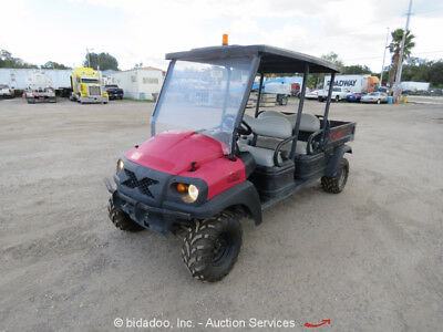 2011 Club Car XRT 1550 SE D 4WD 4 Passenger Side by Side Diesel bidadoo