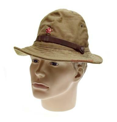 7008c6aee545e Russian Panama Afghanka Sands Military Soviet Cap Army USSR Soldier Hat  Uniform