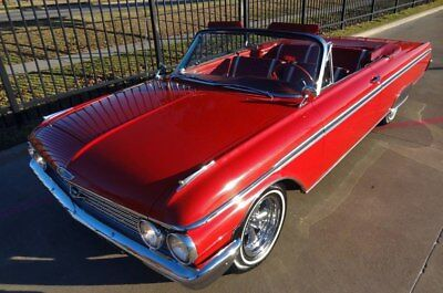 1962 Ford Galaxie 500 1962 Ford Galaxie 500 Sunliner Convertible Red