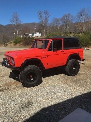 1972 Ford Bronco  1972 Classic Ford Bronco Truck- No Reserve