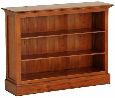 NEW Wide Carlota Half Size Bookcase