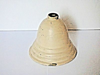"ANTIQUE BRASS VICTORIAN CEILING LIGHT COVER   3/4"" Fitter   Painted   PART"