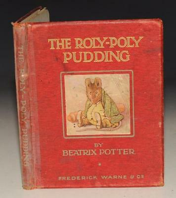 Beatrix Potter ROLY-POLY PUDDING Frederick Warne & Co Early 1908 Illustrated