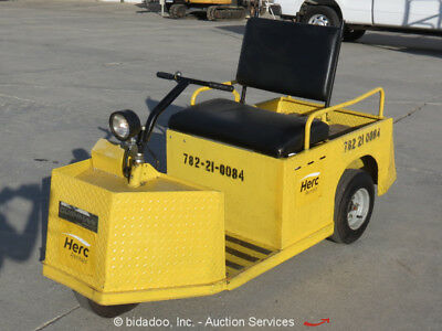 2010 Cushman E-Z-Go Minute Miser X1835 24V Electric Flatbed Warehouse bidadoo