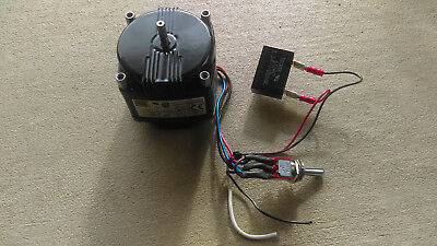 Bodine KYC-24 Continuous Duty 1800RPM Electric Motor  115 VAC