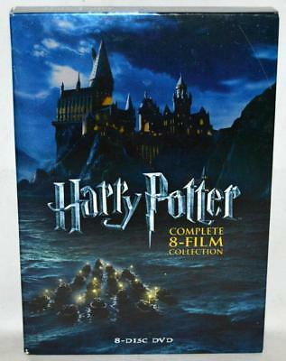 Harry Potter: Complete 8-Film Collection (DVD, 2011, 8-Disc Set) ~145