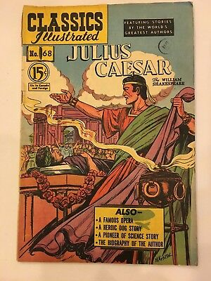 Classics Illustrated Comics lot of 1 Canadian issue # 68 hrn 67