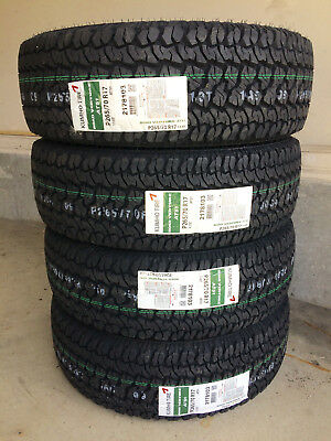 1x Canadian P265/70R18 Kumho AT51 REQUEST DISCOUNT for 4  Alberta Tire Depot