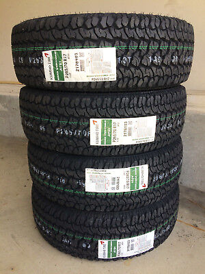 1x Canadian P245/75R16 Kumho AT51 REQUEST DISCOUNT for 4  Alberta Tire Depot
