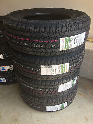 1x Canadian P245/70R17 Kumho AT51 REQUEST DISCOUNT for 4  Alberta Tire Depot