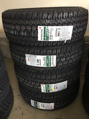 1x Canadian 265/65R18 Kumho AT51 REQUEST for DISCOUNT for Alberta Tire Depot