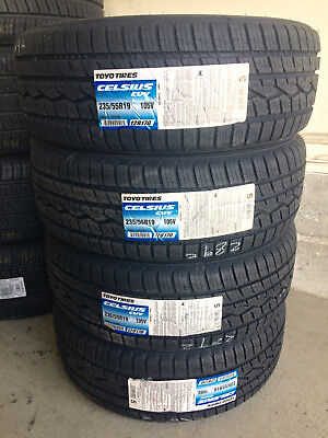 1x Canadian Toyo Celsius CUV 235/55R20 ALL sizes Request DISCOUNT for 4