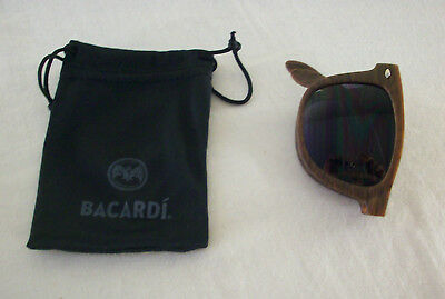 Bacardi Rum Collapsible Sunglasses with Pouch Sun Glasses Brand New