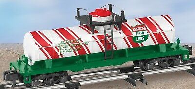 Lionel American Flyer Trains 6-48424 Candy Cane Tank Car S Gauge S Scale NIB