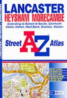 A-Z Lancaster Street Atlas by Geographers' A-Z Map Company | Book | second hand