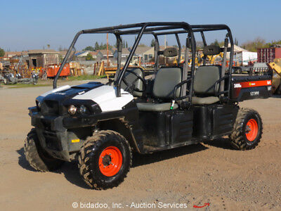 2013 Bobcat 3400XL 4WD Diesel 4-Seater Utility Cart UTV ATV 4x4 Dump Vehicle