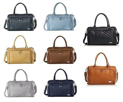 Isoki Double Zip Satchel Baby Bag