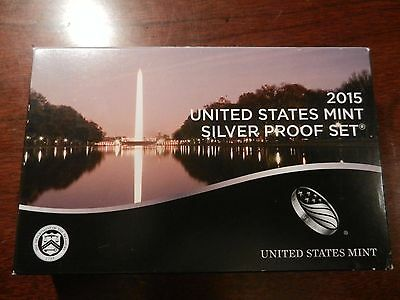 2015 US Mint Silver Proof 14 Coin Set Beautiful coins, Very low mintage!