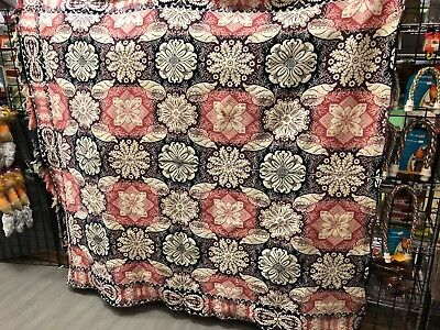 Vintage Woven Coverlet