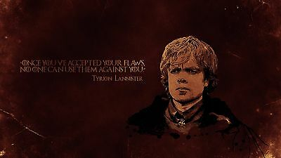 Poster 42x24 cm Juego de Tronos Tyrion Lannister / Game Of Thrones Serie Cartel