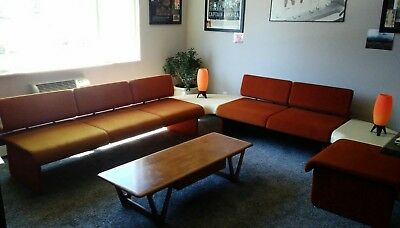 Harvey Probber Floating Upholstered Couch Mid Century Modern Rare Mod Furniture