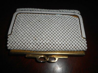 Park Lane  Mesh Purse Cream  Australian Made