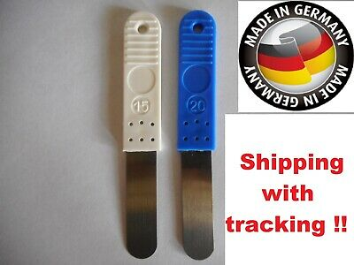Feeler gauge set 0,15 / 0,20 BMW R60 / 6 R75 / 6 R90 / 6 R90S Valve gauge feeler