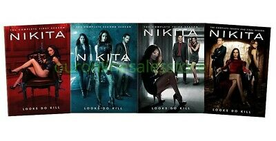 Nikita DVD Set Complete All 1-4 Seasons TV Series DVD Set Collection Bundle Show
