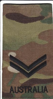 Multicam Army Australia Rank Slide CPL X1
