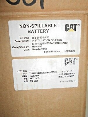 Caterpillar 362-9053-00-03 Minestar Proximity Awareness Gp-Fie Kit