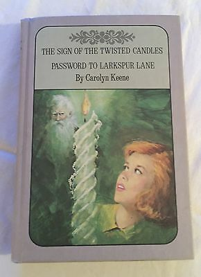 Nancy Drew Mysteries The Sign of the Twisted Candles & Password to Larkspur Lane