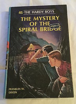 The Hardy Boys The Mystery of the Spiral Bridge #45 (1966) Franklin W Dixon