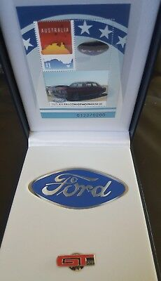 Ford GT HO phase 111 Box set limited to 200 to go with tin coins