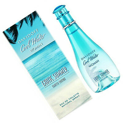 DAVIDOFF COOL WATER WOMAN EXOTIC SUMMER EDT SPRAY 100 ml