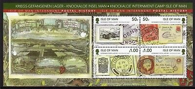 Isle of Man 2011 Internment min. sheet fine fresh MNH