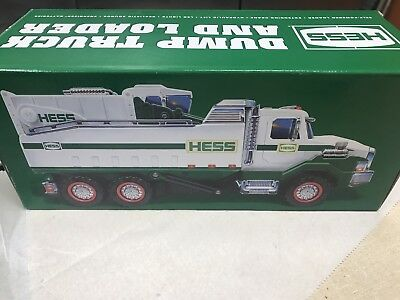 2017 HESS Dump Truck AND Loader Brand New In Box FREE PRIORITY SHIPPING Sold Out