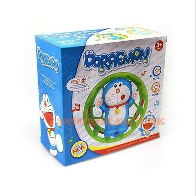 Doraeman/funny Duck Circling Toy In A Box Perfect Gift For Xmax