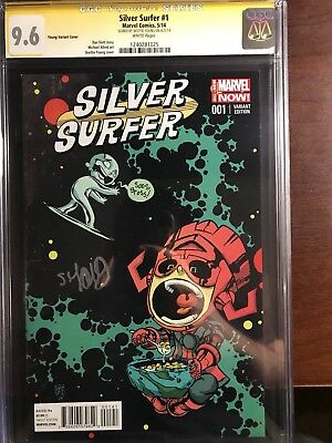 2014 Silver Surfer 1 CGC 9.6 signed by Skottie Young