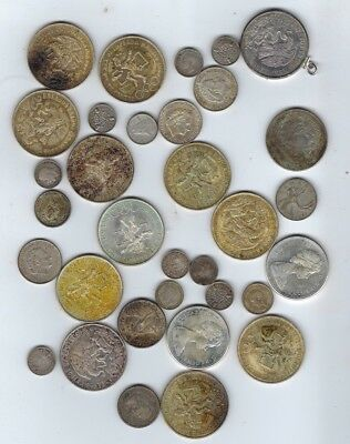 Assorted Foreign Currency Various Dates & Denominations 400g