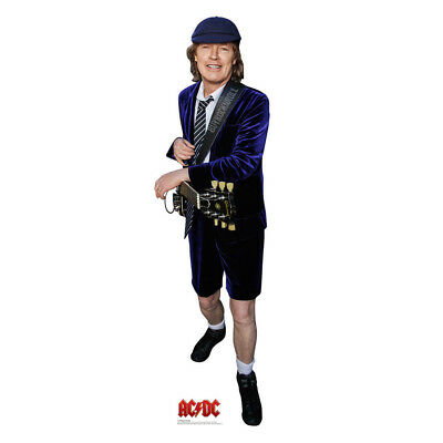AC/DC Collectible: 2015 Angus Young Life Size Cardboard Stand Up Figure