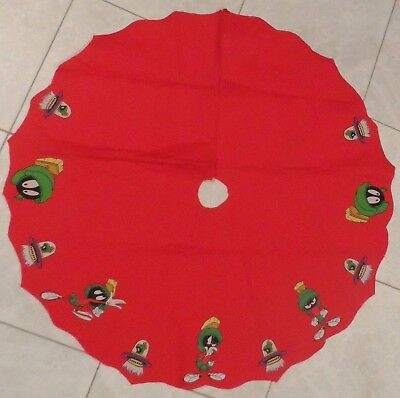 Marvin The Martian Christmas Tree Skirt Looney Tunes & Merrie Melodies Cartoons