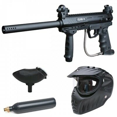 Valken SW-1 Blackhawk Paintball CO2 Set