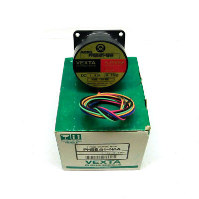 NEW Oriental Motor Co. Vexta PH564M-NAA 5 Phase Stepping Motor 1.4 Amps