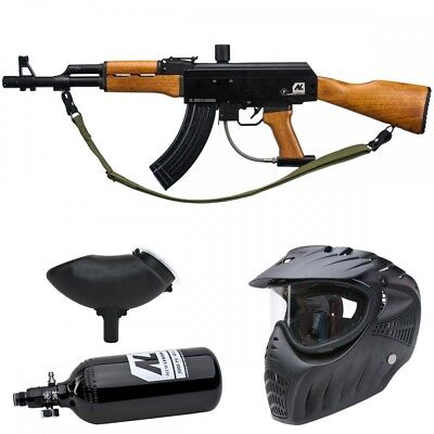 New Legion AK47 HP Paintball Set