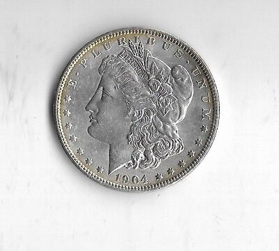1904 Morgan Silver Dollar 90% Silver