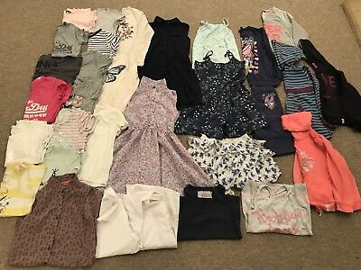 Girls Clothes Bundle 10-11 Years (incl. Super Dry and M&S)