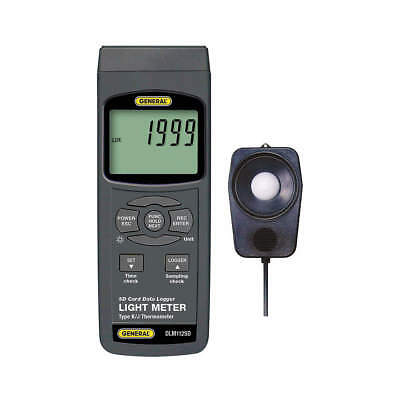 GENERAL DLM112SD Digital Light Meter, 0 to 99, 990 Lux